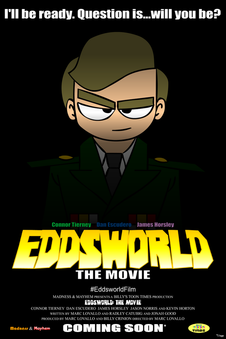 Eddsworld: The Movie - Character Poster #4 (McCoy) by SuperSmash3DS