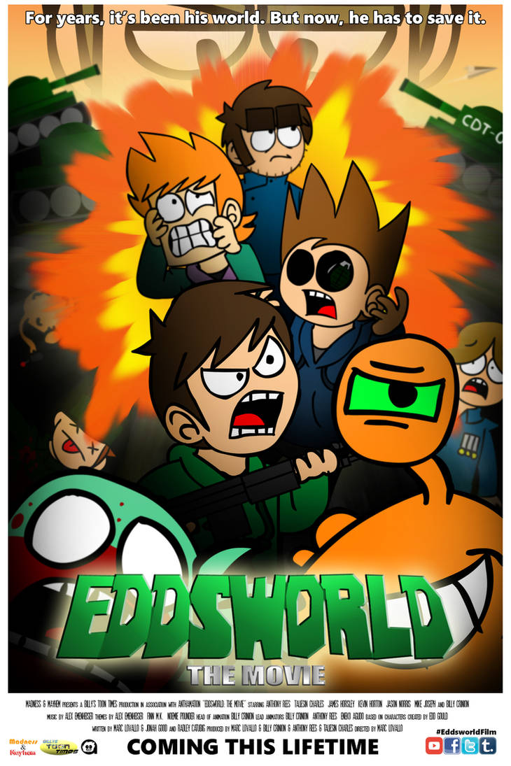 Eddsworld: The Movie - Official Lifetime Poster