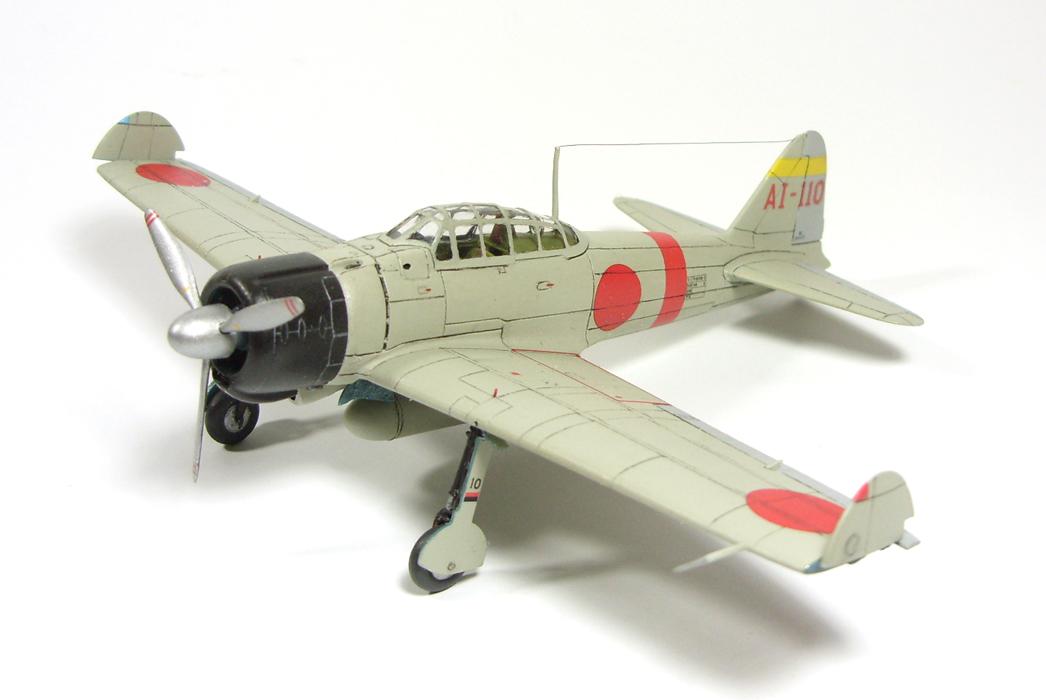 1/72 A6M2 type 21 Zero. Akagi F.G. I by Zero-Cannard