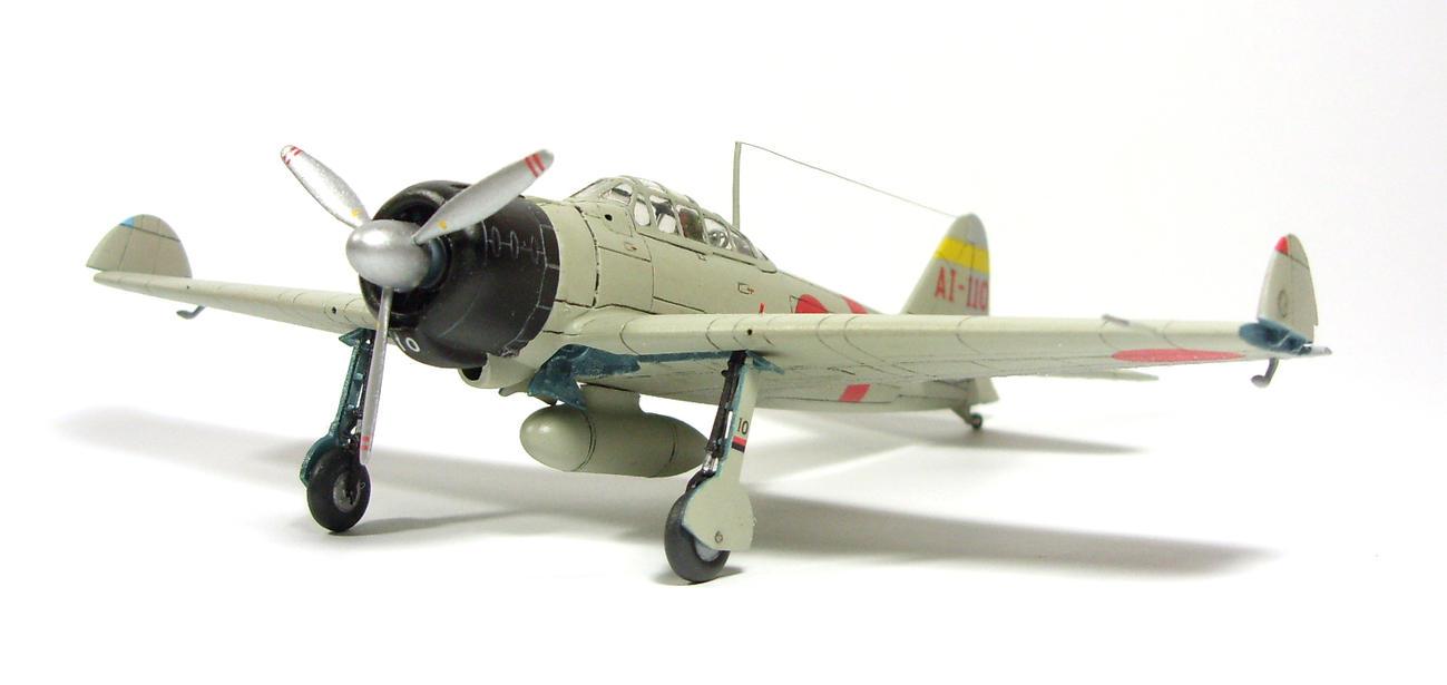 1/72 A6M2 type 21 Zero. Akagi F.G. II by Zero-Cannard