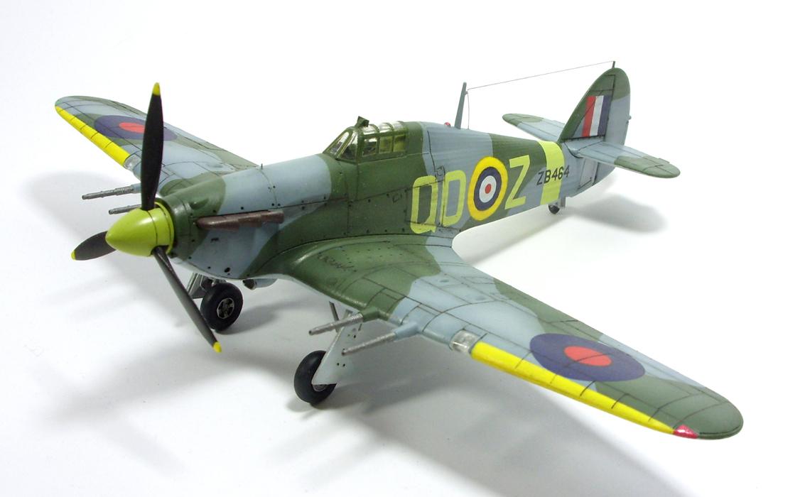 1/72 Hawker Hurricane MK.IIc I by Zero-Cannard