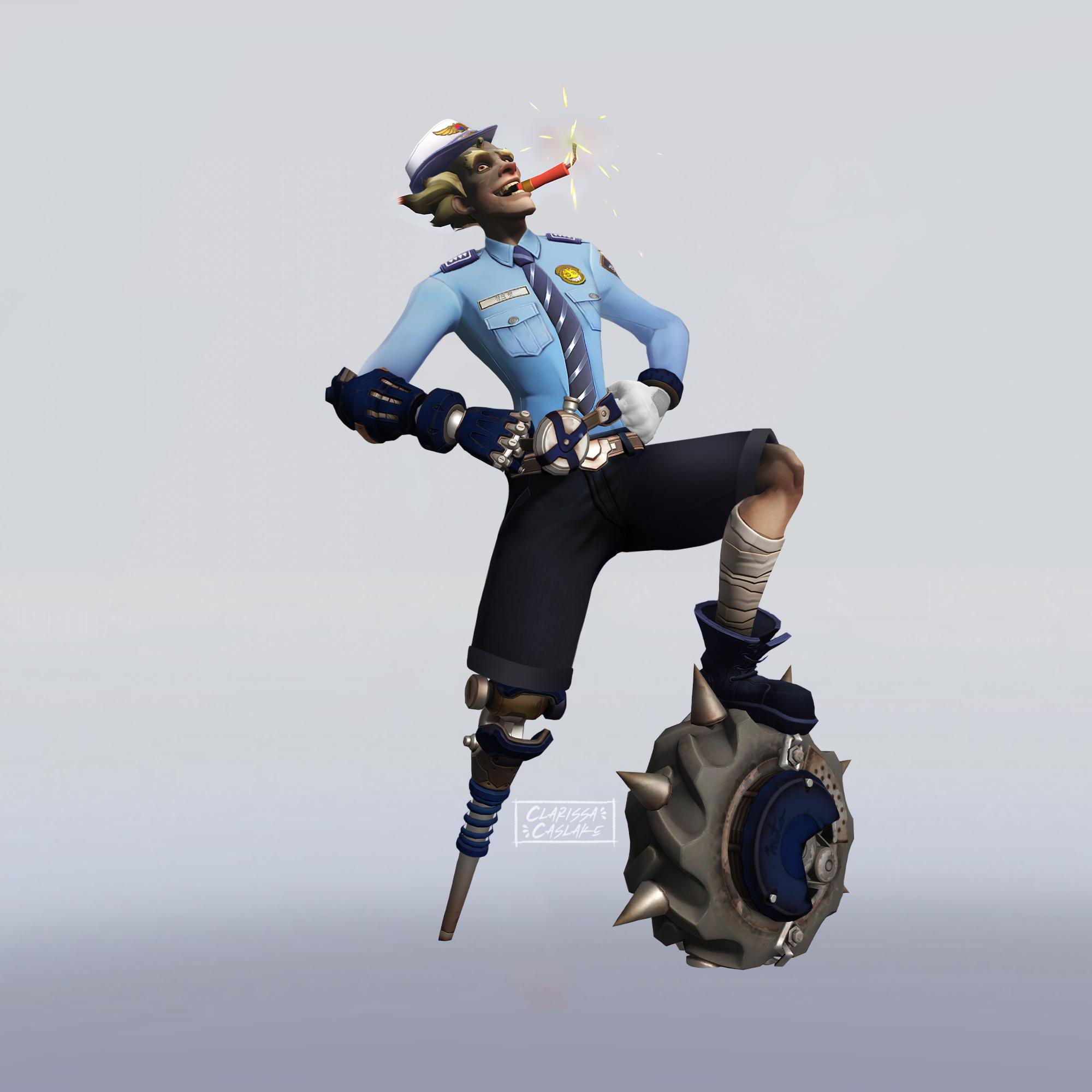 Officer Junkrat