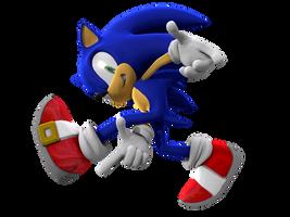 Sonic Adventure pose by mateus2014