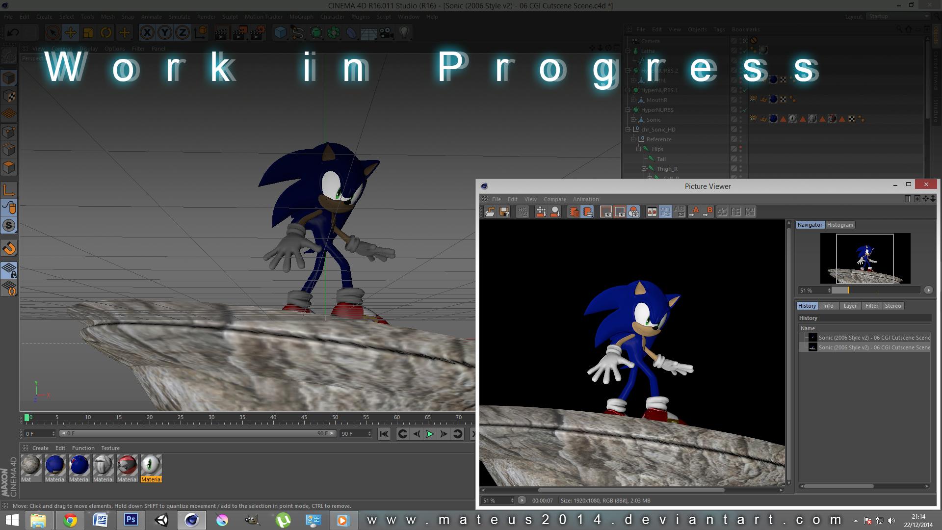 Sonic 06 Cutscene Pose WIP By Mateus2014 On DeviantArt