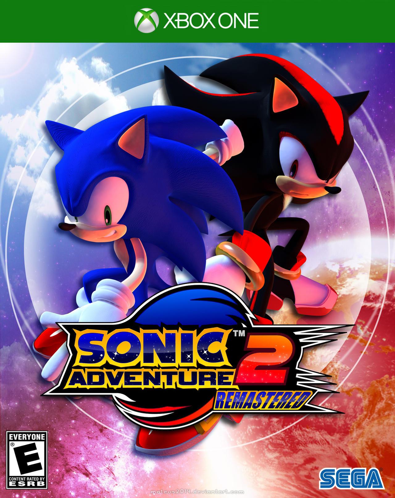 Sonic Adventure 2 Remastered by mateus2014 on DeviantArt