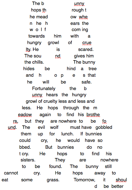 Bunny Poem by MatveyJeevas