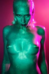 Glitter Alien by WildAtHeart