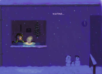 Christmas '12 - Waiting by JimmyWolk