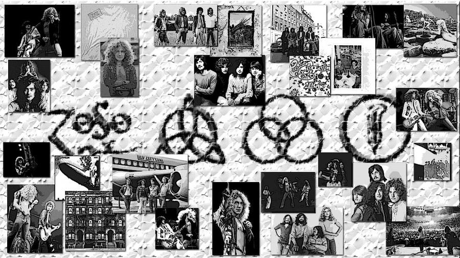 Led Zeppelin Collage by gdelgy on DeviantArt