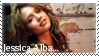 jessica alba stamp by nelo1988