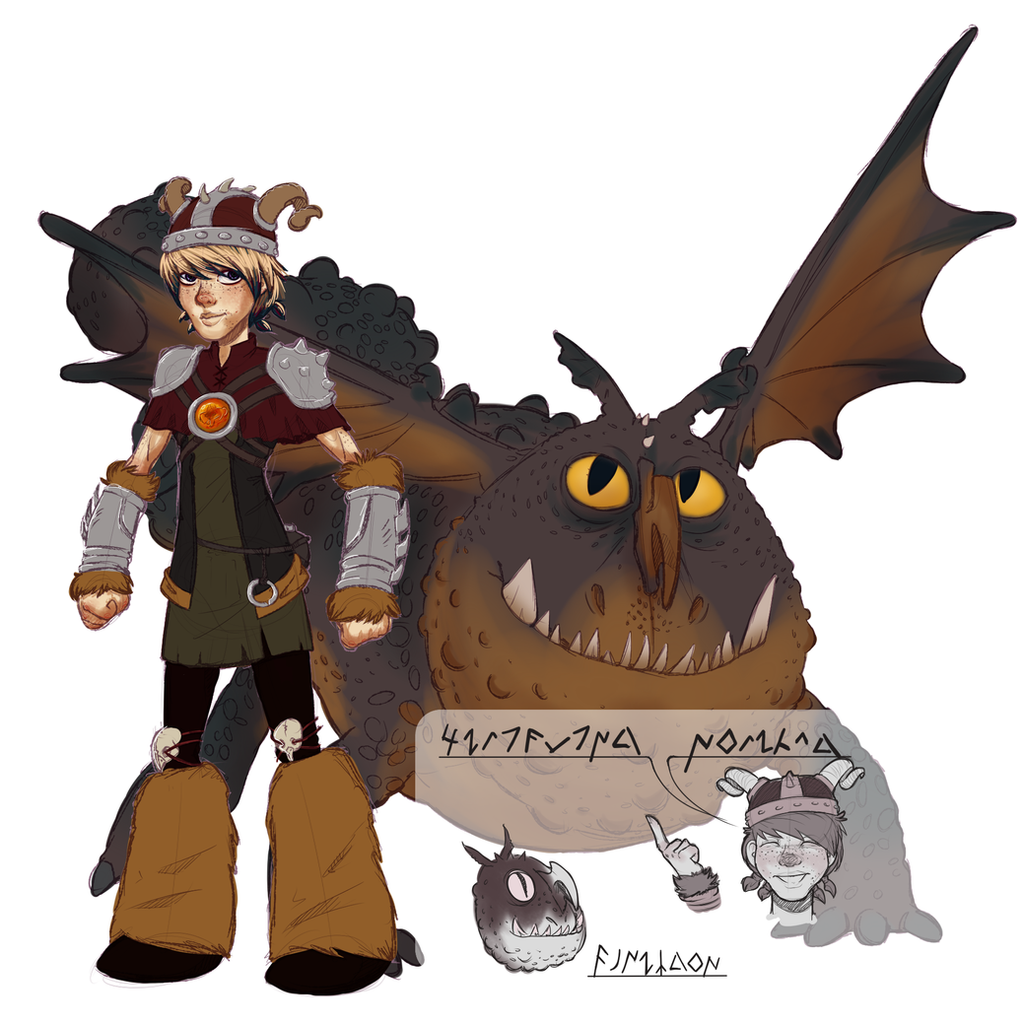 How To Train Your Dragon Oc: Stripling N Pentagon By Kobitka
