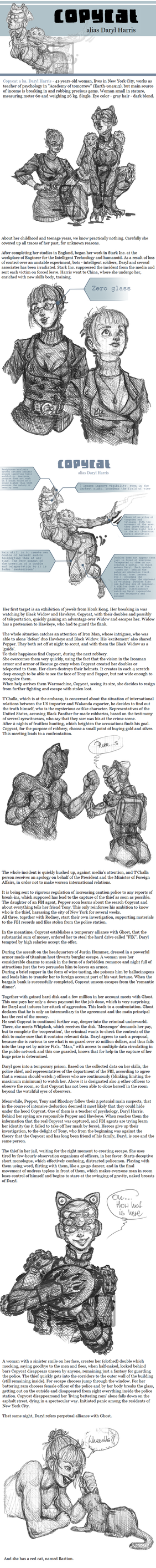 Copycat - own Marvel Comics 'hero' by Kobitka