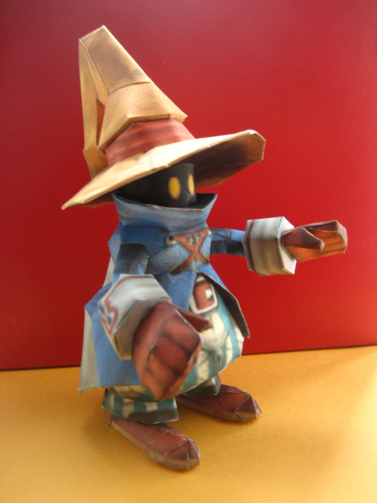 Final Fantasy IX Vivi by Mee-Lin