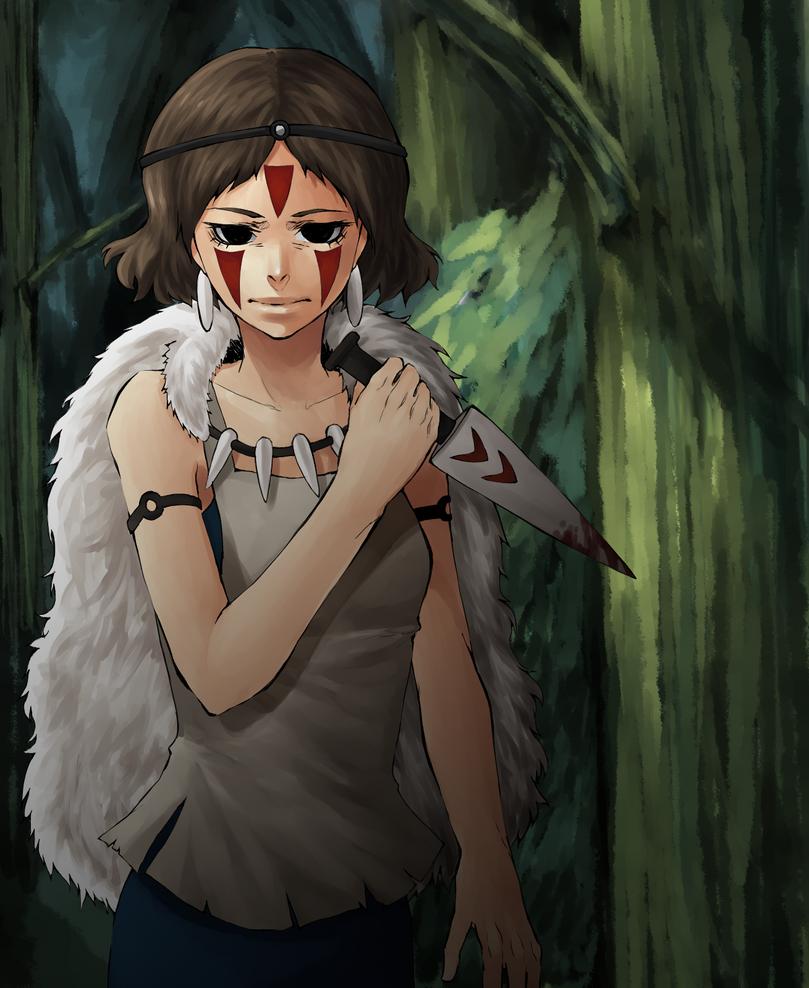 Princess Mononoke by strawberryjamm on DeviantArt