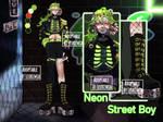 Neon Street Boy ADOPT [CLOSED]