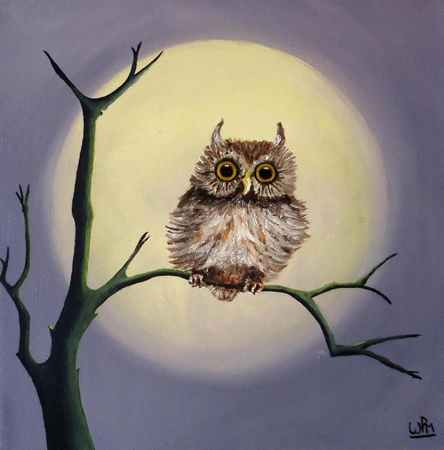 Tiny owl by WendyMitchell