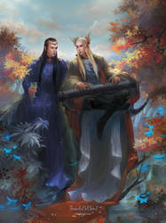 Thranduil and Elrond