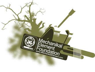Mechanikal Element T-Shirt by subspaceNinja