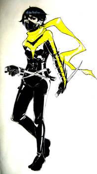 Cassandra Cain Nightwing