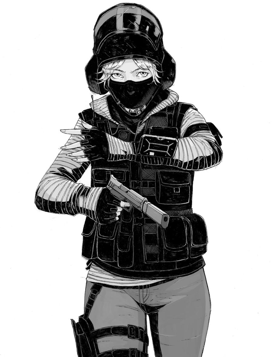 Rainbow Six Siege: Nokk by CaptainBombastic on DeviantArt