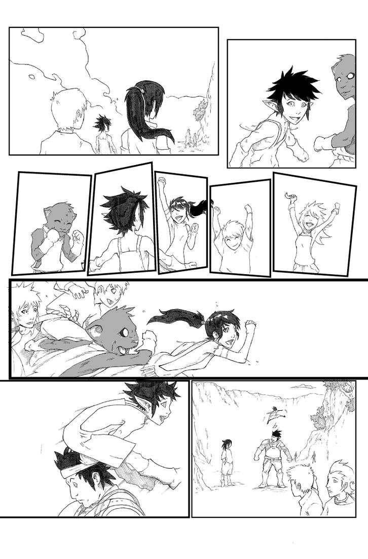 Rona Manga Page