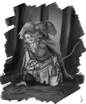 Barbarian-huntress