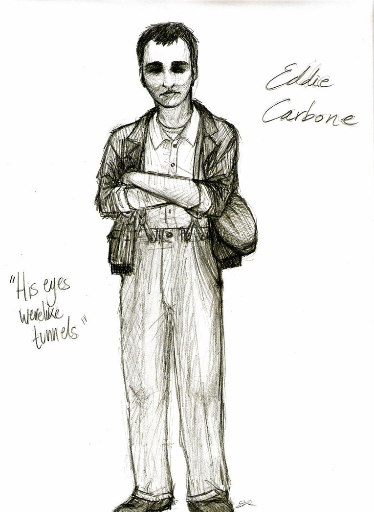 characterisation of eddie carbone The character of eddie carbone the character eddie carbone is often thought of as a strong italian family man while he proves rather heroic to many.