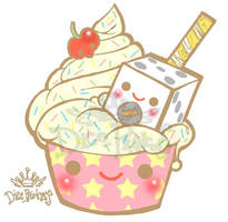 cute cake by DicePrincess