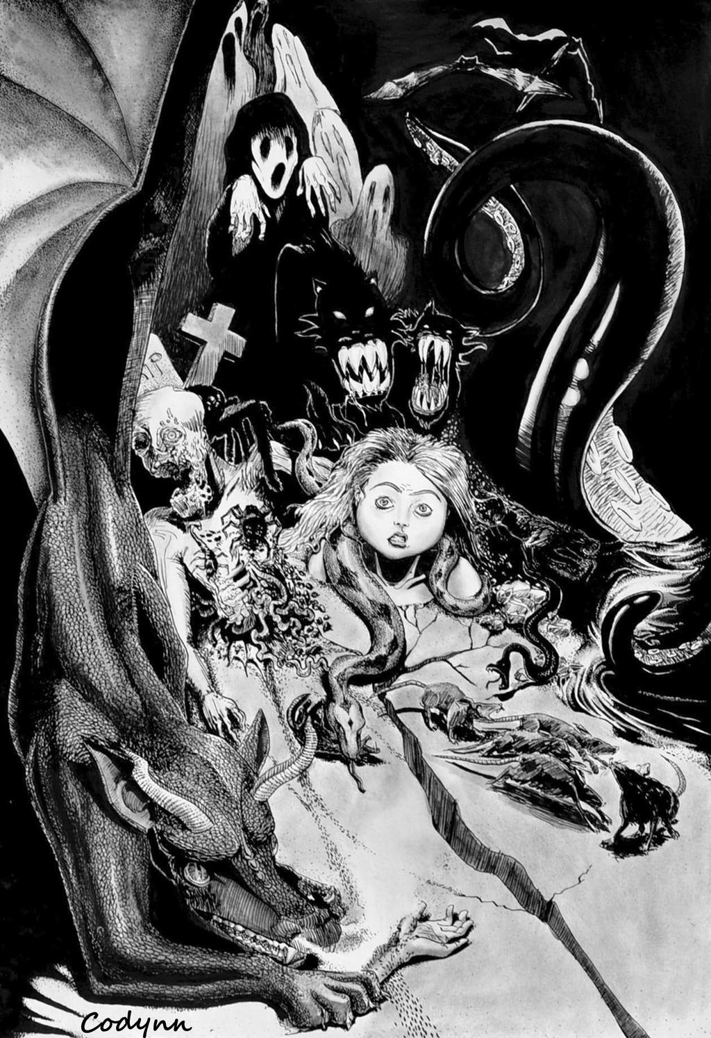 Cauchemar  - Nightmare by Codynn