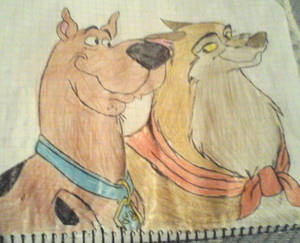 Scooby Doo and Lilly-1