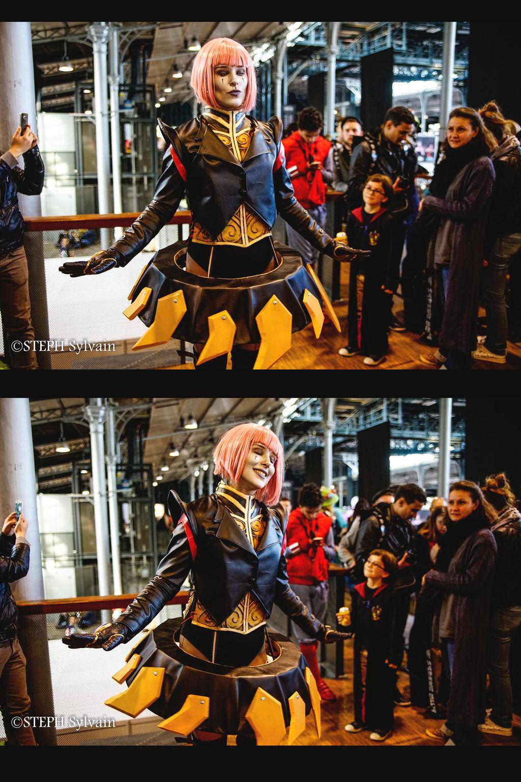 Orianna Bladecraft cosplay