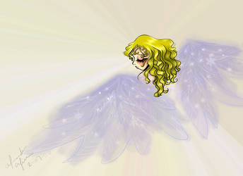Angel by Fervent-