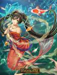 magic knight contest: mermaid
