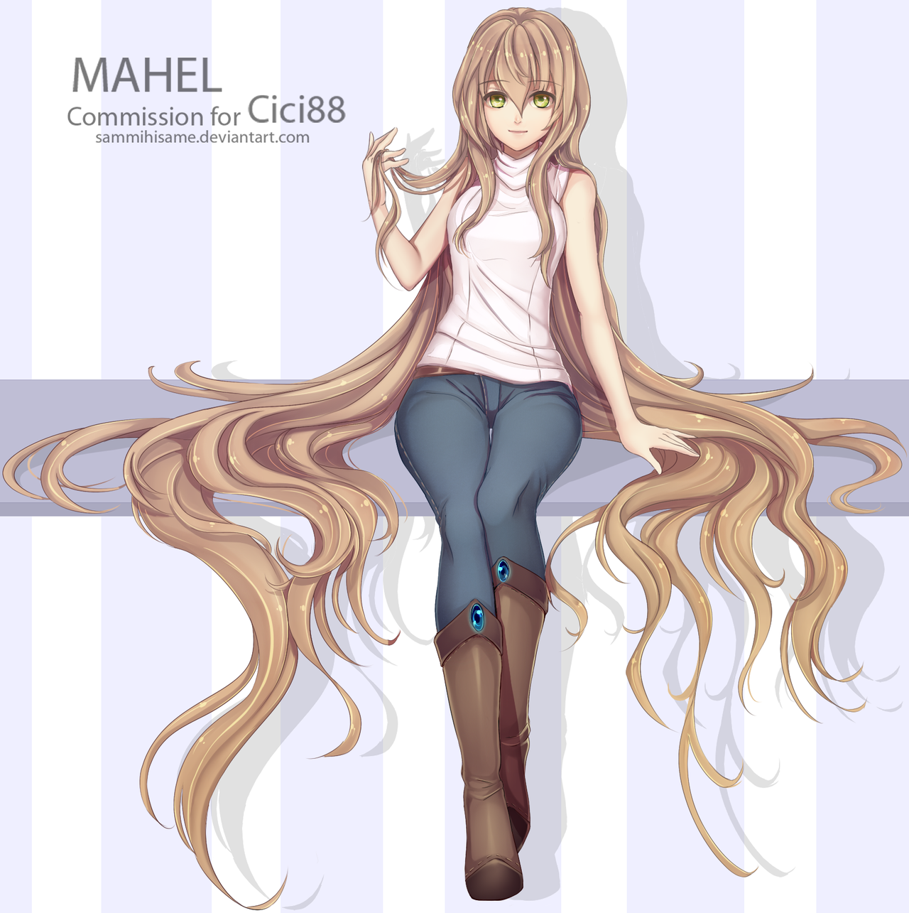 commission: Mahel by sammihisame