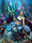 Niva the wicked mermaid