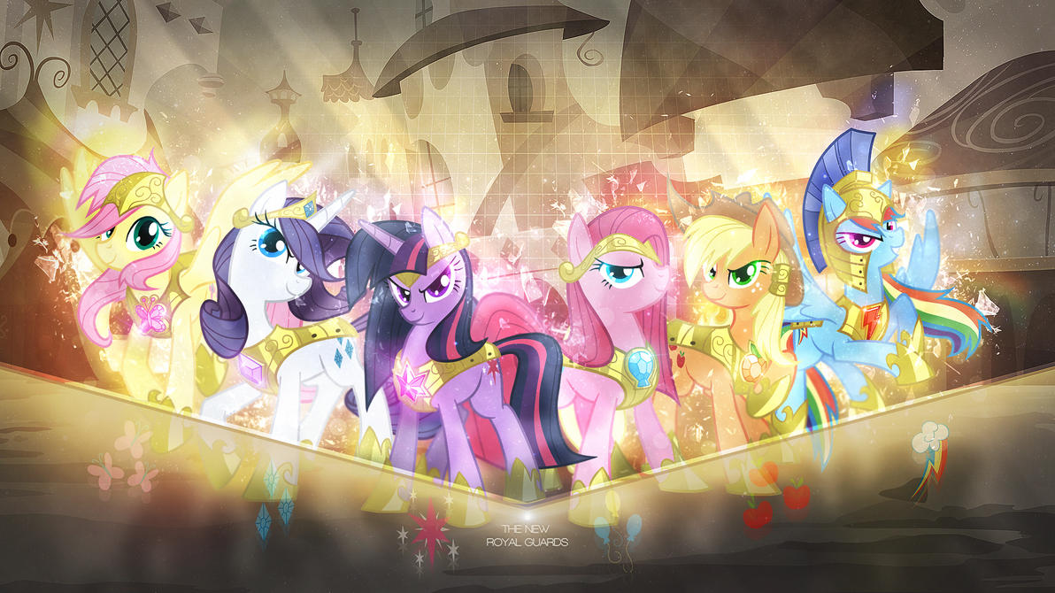 Wallpaper ~ The New Royal Guard (Edit) by Makkah-Chan