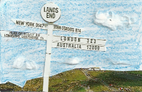 Mail Art: Lands End by Bexy-Lea