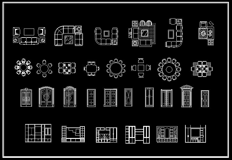 Autocad blocks by jushiung on deviantart for Interior design cad free