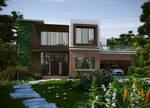 Modern_Brick_House by biz-kong