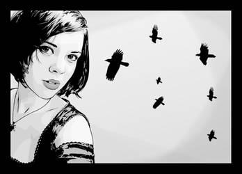 Seven Birds by verucasalt82