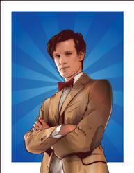 Eleventh Doctor by verucasalt82