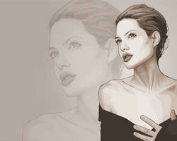 Angelina Jolie Wallpaper by verucasalt82