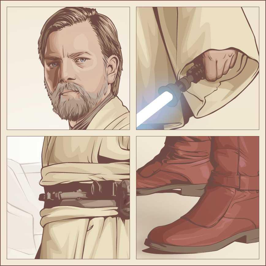 Obi-Wan Close-Ups by verucasalt82