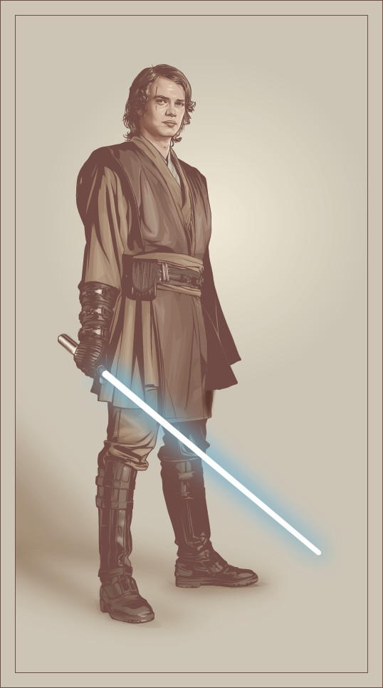 Crappy Anakin Skywalker by verucasalt82