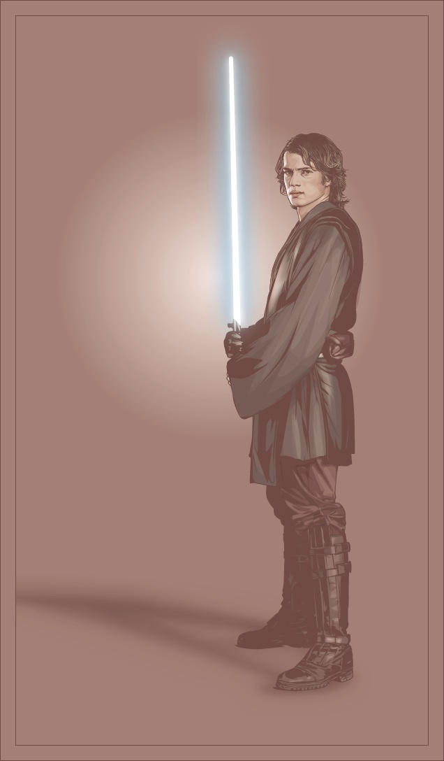 Anakin Skywalker by verucasalt82