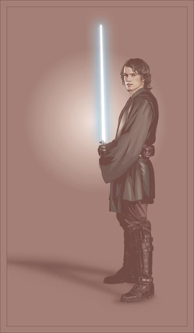 Anakin Skywalker by verucasalt82