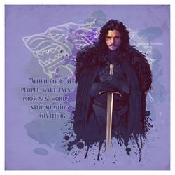 Jon Snow by verucasalt82