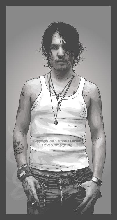 Johnny Depp Number Two.  Ish. by verucasalt82