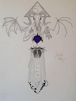 Amael - corrupted angel of desperation