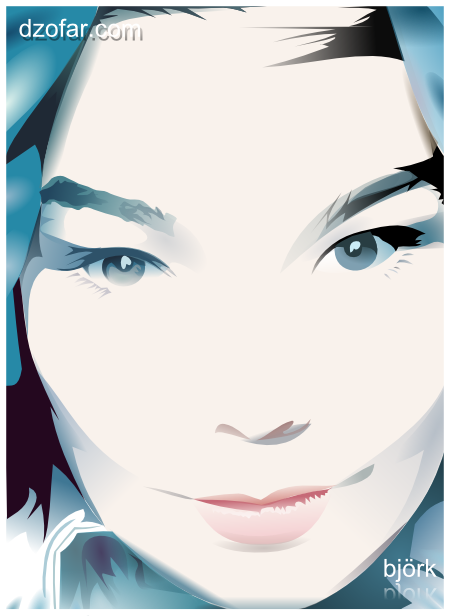 bjork vector inkscape 2 by ndop